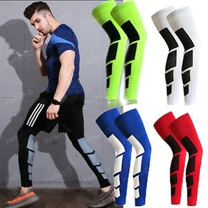 cc3cdd35887 CFR Men Women Compression Socks Knee High Support Stockings Leg ...