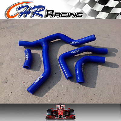silicone radiator hose for HONDA CRF450 CRF450R CRF 450 R 2015 2016 15 16 BLUE