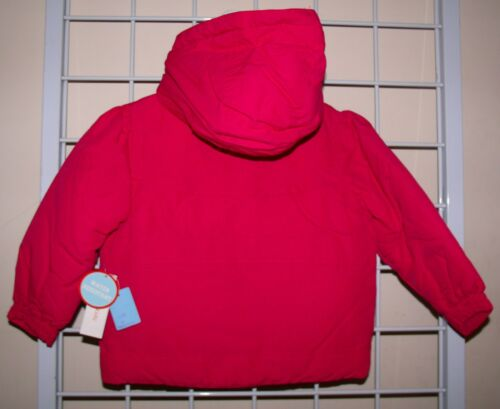 PINK Wonderkids Girls Toddler Winter Coat Jacket Size 2T  4T Water Resistant NWT