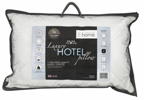Catherine Lansfield Luxury 5* Hotel Quality Pillow 1 x Single Pillow