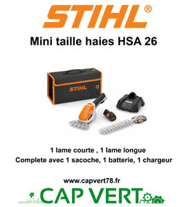 Stihl Mini Taille haies HSA 26