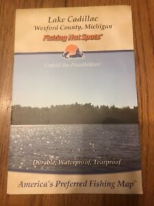 Lake Cadillac Wexford County Michigan Fishing Hot Spots Ships N - Cadillac wexford
