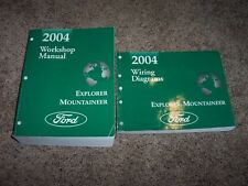2004 Ford Explorer Shop Service Repair Manual Eddie Bauer Limited XLS XLT NBX