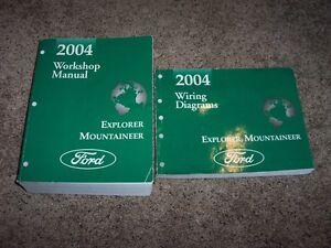 2004 ford explorer shop service repair manual eddie bauer limited rh ebay com 2004 ford explorer xlt service manual 2004 ford explorer xlt manual pdf