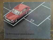 VOLKSWAGEN 411 & L orig 1969 UK Mkt Prestige Sales Brochure - VW Type 4