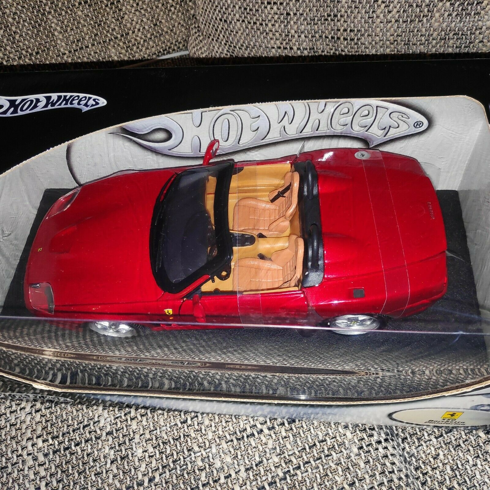 mejor opcion 131828 1 18 18 18 Hot Wheels  57311 ferrari 550 barchetta met. rojo Pininfarina top nuevo  promociones
