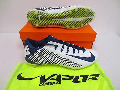 Nike Vapor Carbon 2014 Elite Men/'s Football Cleats Style 631425-100 MSRP $150