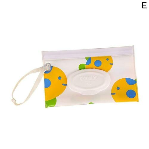 Practical Wet Wipe Bag Carrying Case Eco-friendly Wet Wipes Bag