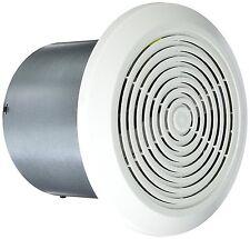 "Mobile Home Ventline Bath Exhaust Fan- 7"" Round w/ White Cover"
