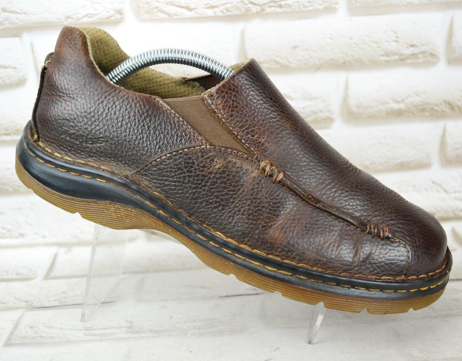 DR. MARTENS  Herren Braun Leder Casual Outdoor Schuhes 10 Stiefel Größe 9 UK 43 EU 10 Schuhes US c22611