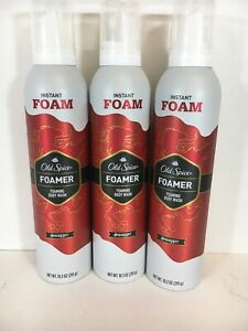 Old-Spice-Foamer-Foaming-Body-Wash-Swagger-10-3-oz-Lot-of-3-Discontinued