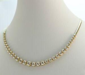 Kollier-mit-0-75ct-Diamanten-585er-Gelbgold-14-karat