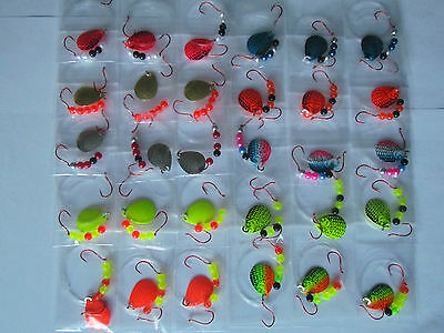 24 Slow Death Floater Crawler Harnesses Size 3 Colorado Blades
