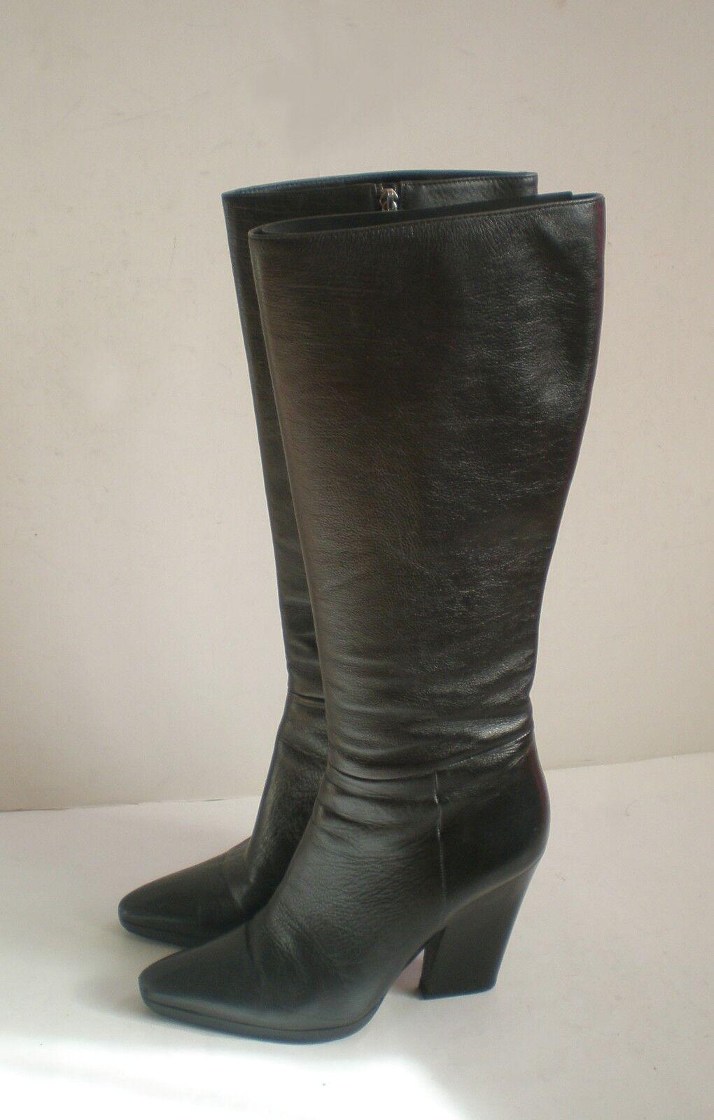 Bottes En Fe1260 Chaussures Cuir Prada Taille qUxOwff
