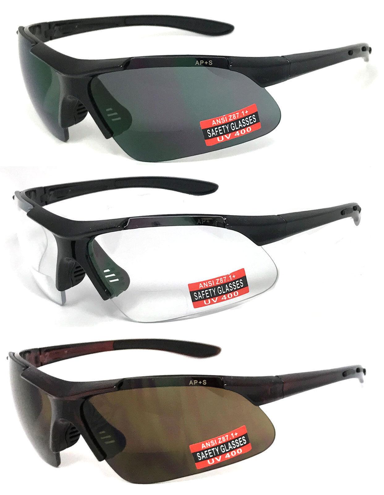 safety inner bifocal reading glasses reading sunglasses uv