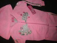 Princess Pink Sweat Suit Hoodie Pant Set 12m Diva
