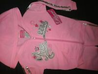 Princess Pink Sweat Suit Hoodie Pant Set 12m Diva