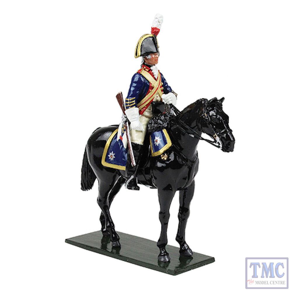 B47047 W. Britain British Horse Guards blus Trooper 1795 REGGIMENTI Classic