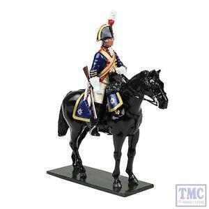 B47047 W.britain Chevaliers britanniques gardes du Blues Trooper 1795 Regiments Classic