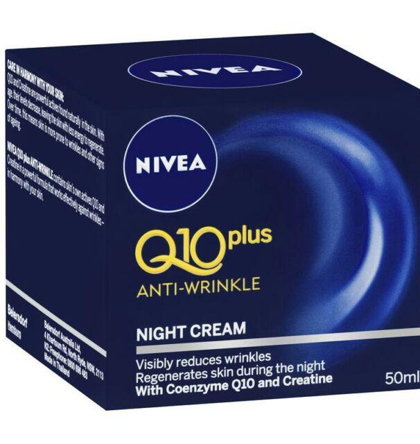 nivea q10 night