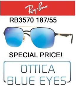 0d71b305169 Caricamento dell immagine in corso RAYBAN-RB-3570-187-55-Sunglasses-Ray-Ban-