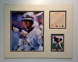 Seattle Mariners Alex Rodriguez 1997 Baseball 11x14 MATTED Kelly Russell Print