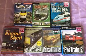 Details about Job Lot Microsoft Train Simulator Add-ons (Engine Shed Euro  Loco High Speed Pro)