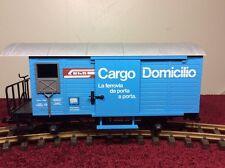 LGB 4127 CARGO DOMICILIO SHORT BOX CAR - G SCALE BOX CAR