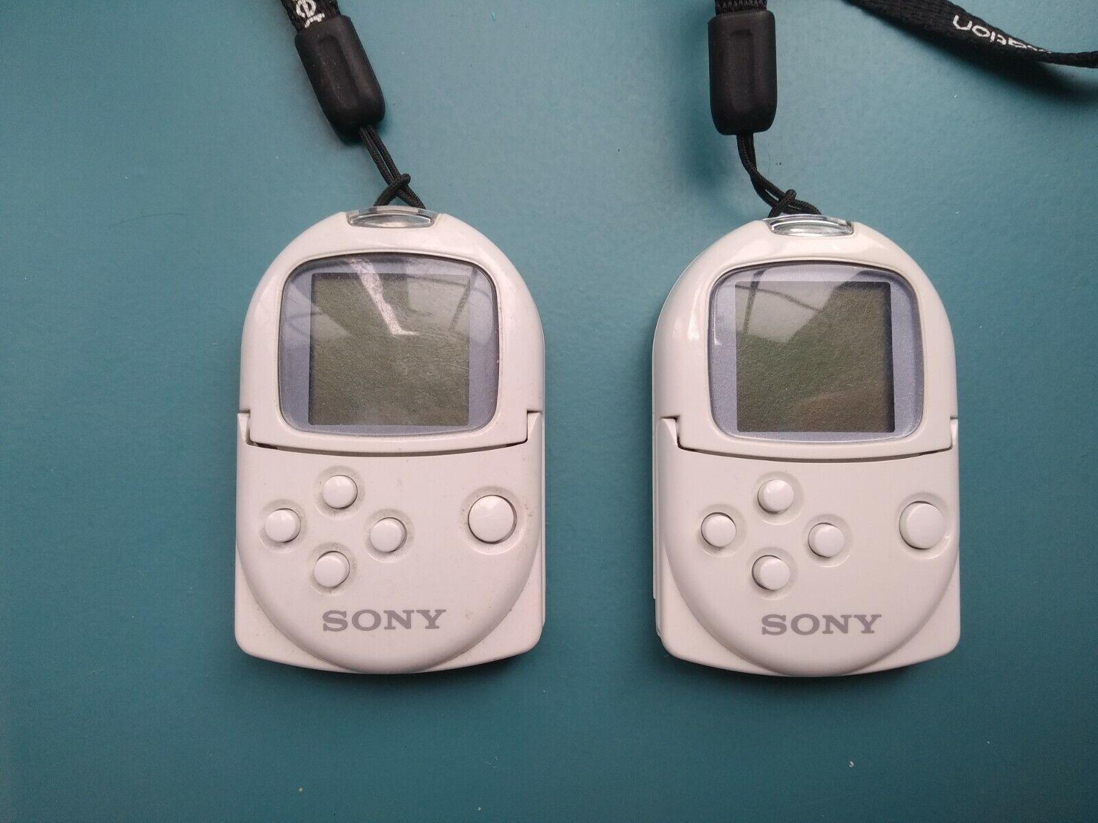 1 x Genuine Sony PS1 PocketStation Memory Card White With Strap