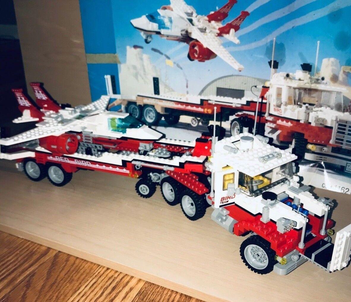 Lego 5591 Mach II Red Bird Rig Model Team Rare 1994 100% Complete