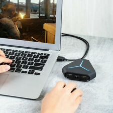 USB 3.0 4-Port USB Hub Splitter Adapter Speed for Laptop Computer PC MouseBSG