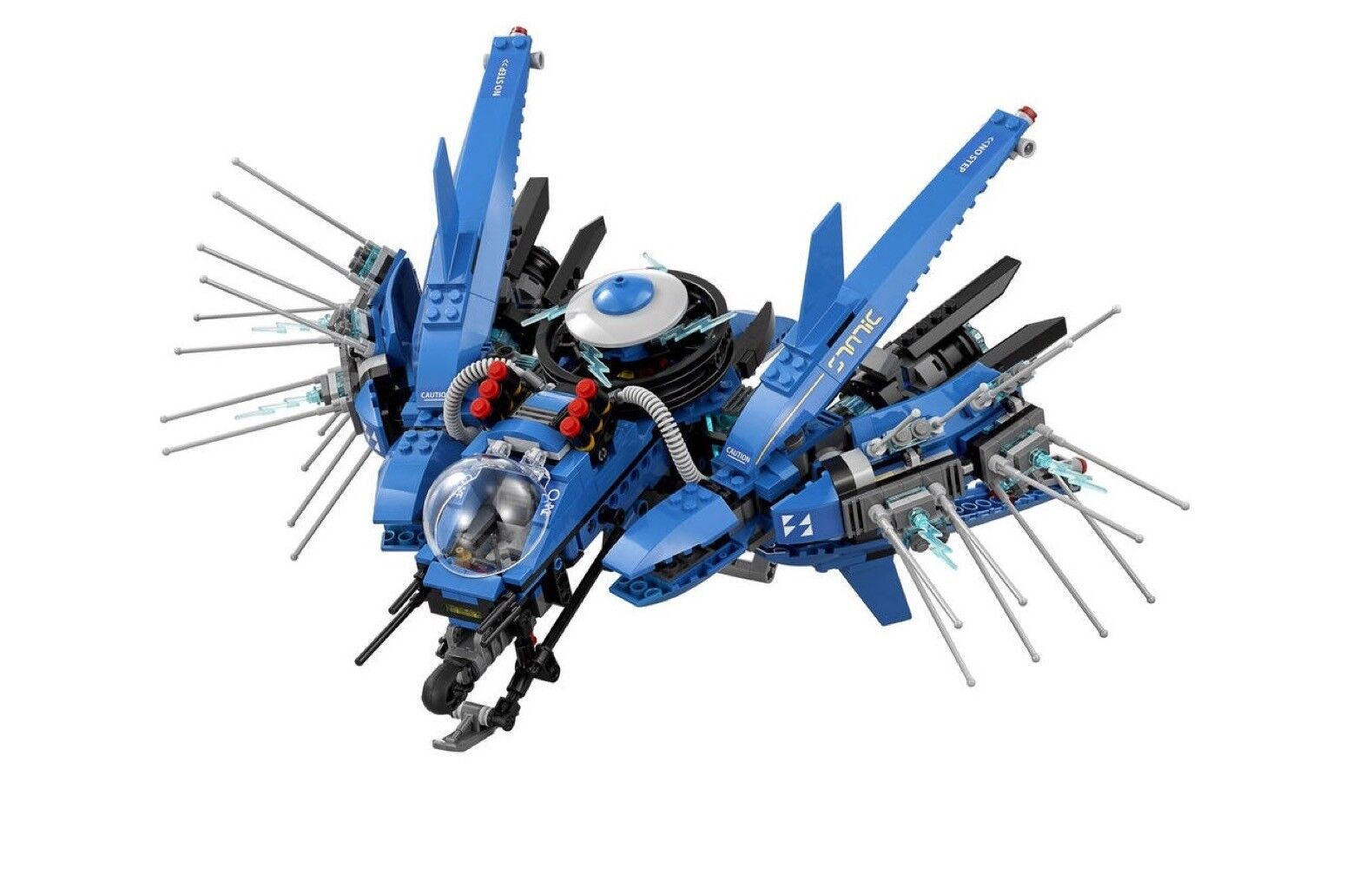 LEGO Ninjago - 70614  Lightning Jet - No Minifigures Box Crab