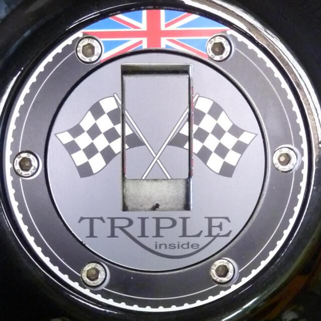Tank gas cap cover Triumph Daytona T595 955i 675 650 600 Aluminium