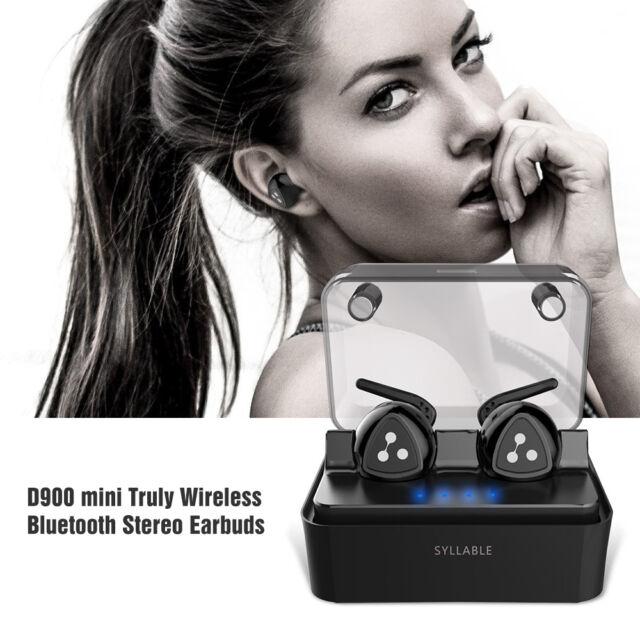 Syllable D900 MINI Truly Stereo Wireless Bluetooth Headset Earphone Headphone