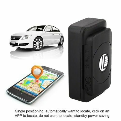 Magnetic Hidden GPS Tracker for Car Vehicle Tracking Device Real Time 4400mAh US