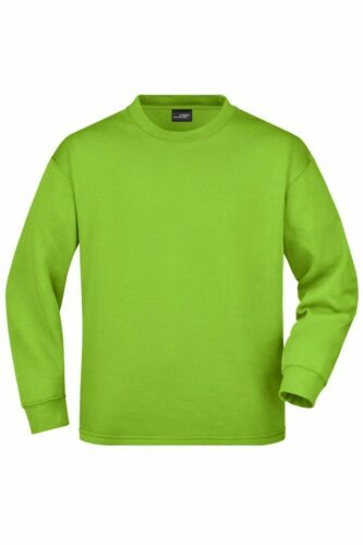 Herren Mens Pullover Sweatshirt Rundhals James/&Nicholson JN199