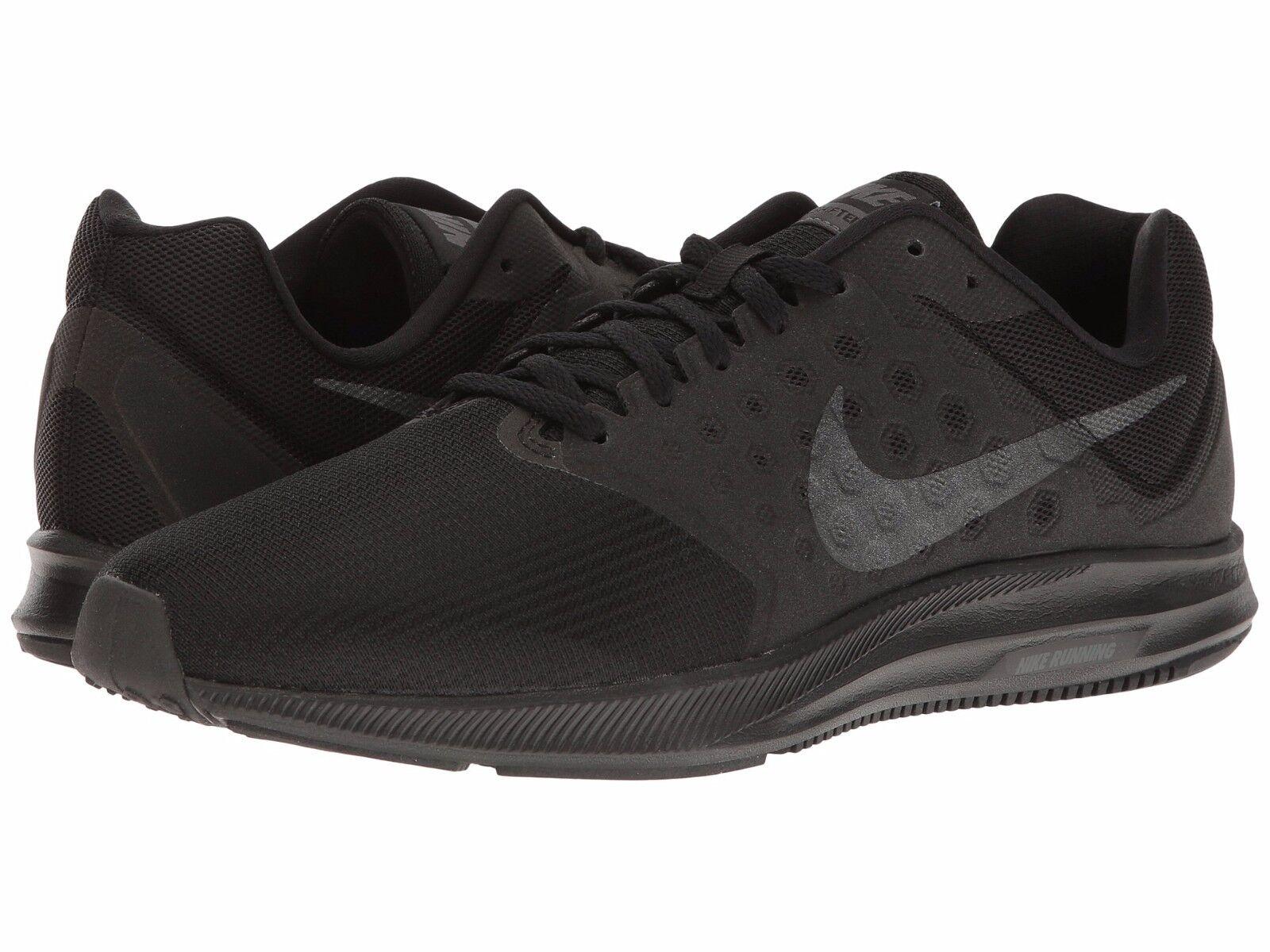 NIB Nike  Hombre Nike NIB Downshifter 7 Correr Tenis Dart Revolución iniciador Mediano y 4E negro c4ace6