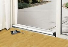 Sliding Glass Door Security Bar Patio Front Entry Dual Function Home Safety