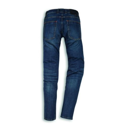 DUCATI Moto Jeans Company c3 BLU PANTALONI MOTO NUOVO