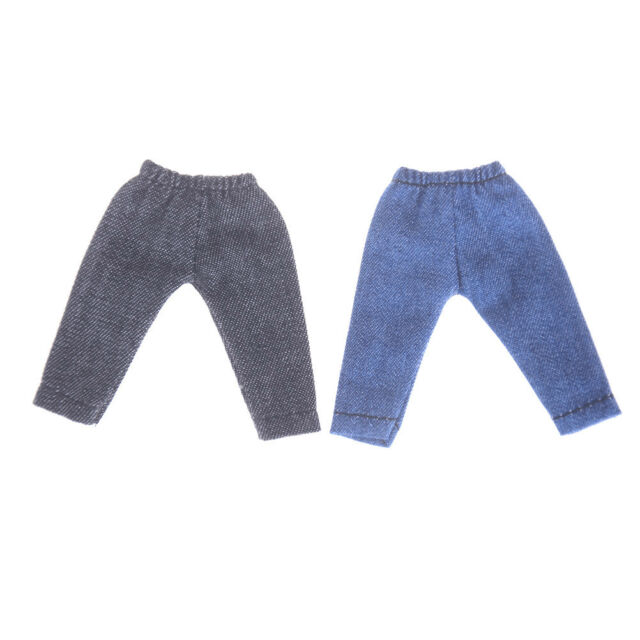 Doll Leggings For Obitsu11 OB11 1/12 BJD Doll Jeans Pants Clothes Accessories LL