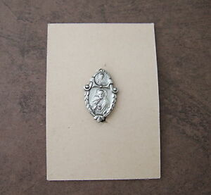 Antique-Vintage-Catholic-Lapel-Pin-FIRST-HOLY-COMMUNION-Jesus-Eucharist-NOS