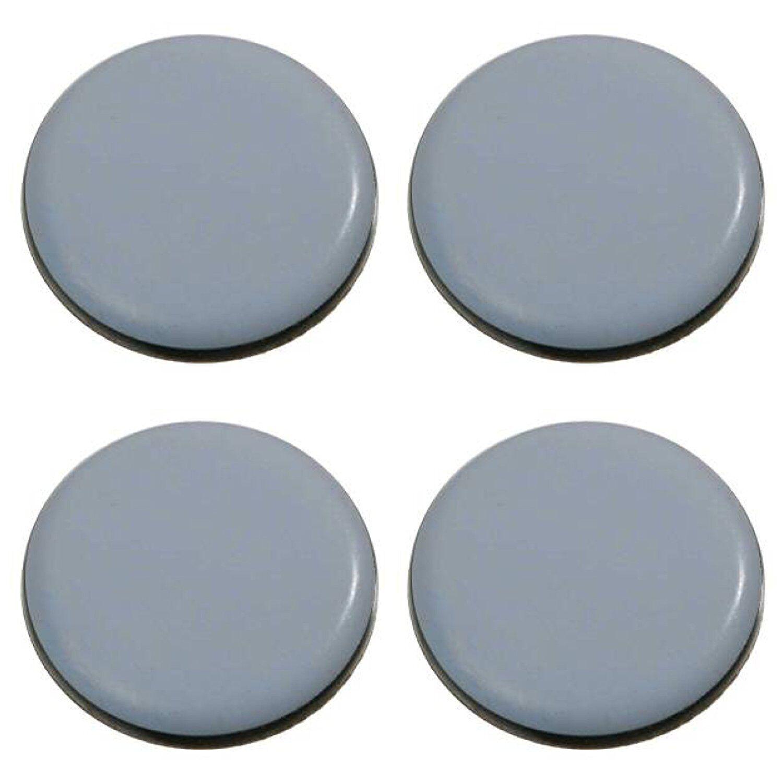 28 Teflon-Möbelgleiter Ø 65 mm - selbstklebend - PTFE Möbelgleiter   Gleiter