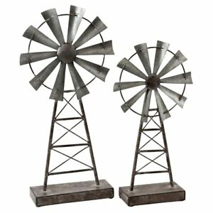 Image Is Loading Aspire Home Accents Farmhouse Windmill Table Top Decor