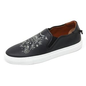 14ÈME ARRONDISSEMENT D6200 sneaker uomo nero black slip on shoe man [43]