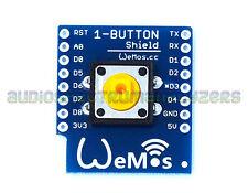Plug in Switch / Button Shield Module for Wemos D1 Mini ESP8266 WIFI module - UK