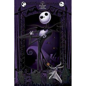 Nightmare-Before-Christmas-It-039-s-Jack-Skellington-POSTER-61x91cm-NEW-Tim-Burton