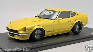 1-18-Ignition-Model-Nissan-Fairlady-Z-S30-Yellow-STAR-Road-Free-Shipping-MR