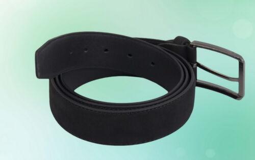 Herren Gürtel Klassisch schwarz Breite 3,6 cm 110 115 120 125 130 135 140 145 cm
