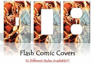 The Flash Justice League DC Comics Light Switch Covers Home Decor Outlet