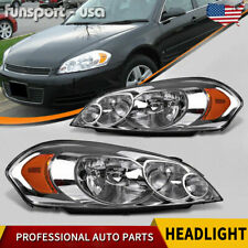 For 06 07 Monte Carlo 2009 2013 Chevy Impala Headlights Replacement Headlamps Us Fits 2006 Impala